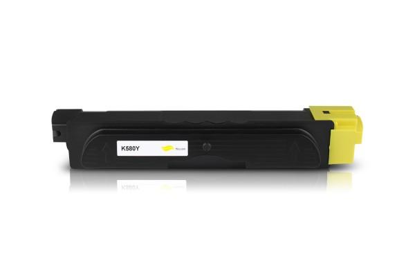 Kompatibel zu Kyocera TK-580Y / 1T02KTANL0 Toner Yellow