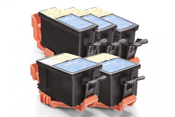 Kompatibel zu Samsung INK-M210 / INK-C210 Tinten Multipack (3x Black / 2x Color)