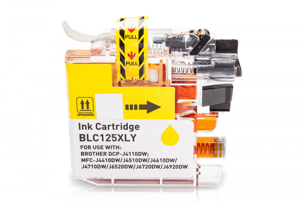 Kompatibel zu Brother LC-125XLY Tinte Yellow